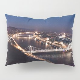 NIGHT TIME IN BUDAPEST Pillow Sham