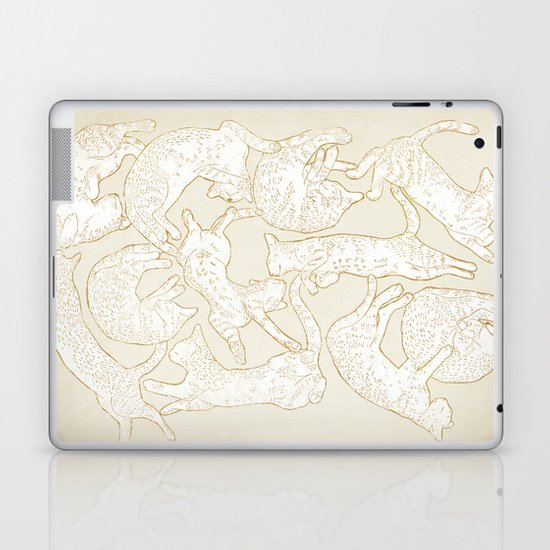 Eleven Sleepy Cat Laptop & iPad Skin