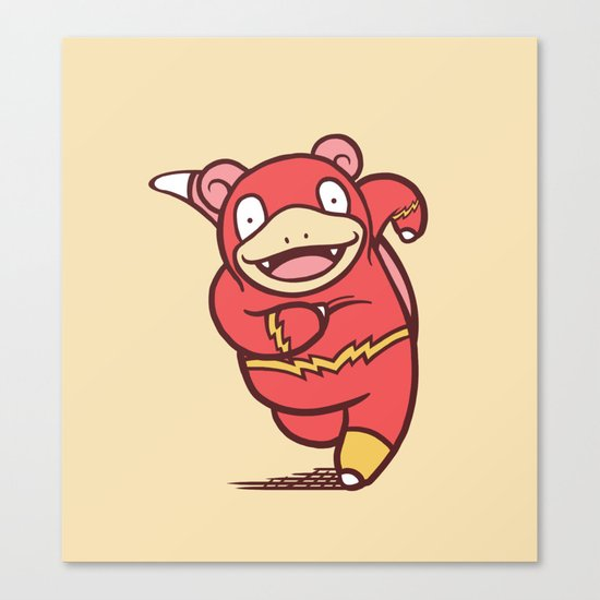 Flashpoke Canvas Print