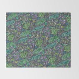Nugs in Green Throw Blanket