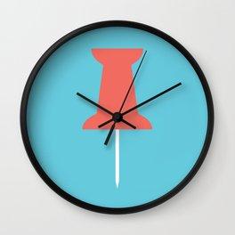 #56 Pushpin Wall Clock