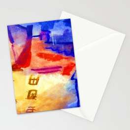 Paul Klee Sun in the Yard Stationery Cards