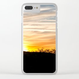 Sunsets Clear iPhone Case