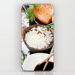 traditional asian ingredients iPhone Skin