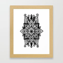 Mandala Curley Framed Art Print