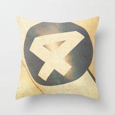 #4 Throw Pillow