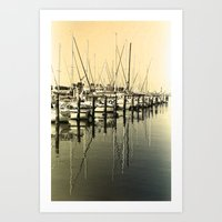 nautical Art Prints featuring Nautical  by Devin Stout