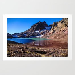 No Name Lake Art Print