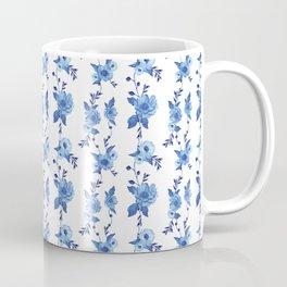 CB x SK BLUE FLORAL Coffee Mug