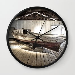 Chesapeake Workboat Wall Clock