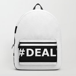 Funny Meme DEAL WITH IT Backpack
