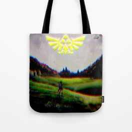 Psychedelic Tri Force Tote Bag