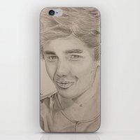 liam payne iPhone & iPod Skins featuring Liam Payne by vanessa