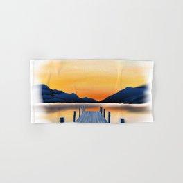 Sunset Lake Hand & Bath Towel
