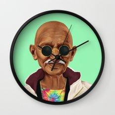 Hipstory -  mahatma gandhi Wall Clock