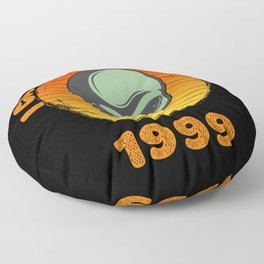 I Came To Earth In 1999 UFO Alien Floor Pillow
