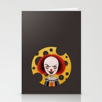 pennywise Stationery Cards featuring Pennywise Cheese by ajd.abelita