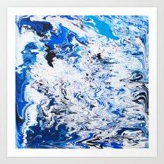 Gravity Painting 26 Art Print