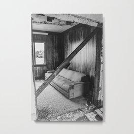 The Yellow House, Arena, North Dakota 19 Metal Print