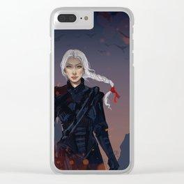 Manon Blackbeak Clear iPhone Case
