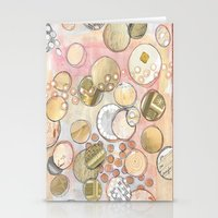 fancy Stationery Cards featuring fanCy by Kras Arts - Fly Me To The Moon