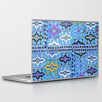 kilim Laptop & iPad Skins featuring Aztec Kilim by EllaJo