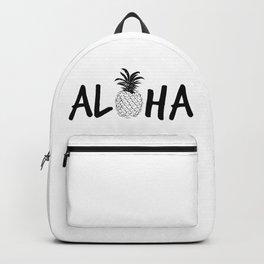 Aloha Pineapple Backpack