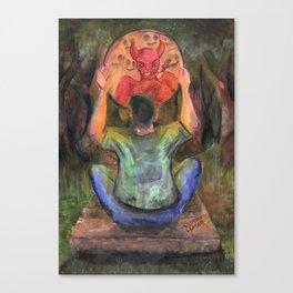 the light in devil in me Canvas Print