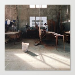 Workshop Canvas Print