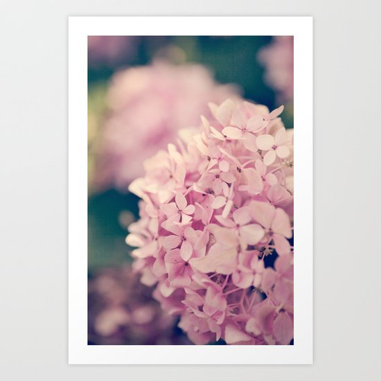Come Hither, Pink Art Print