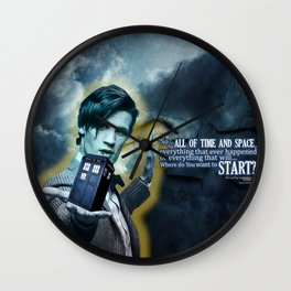 All of space and time Wall Clock