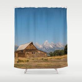 Mormon Row, Wyoming Shower Curtain