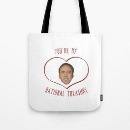 Nicolas Cage Love Tote Bag