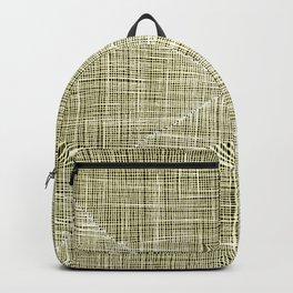 Ink Weaves: Citrine Backpack