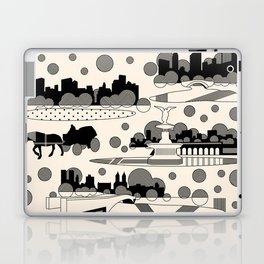 central park snow Laptop & iPad Skin
