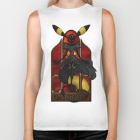 "umbreon Biker Tanks featuring Rule 63: Umbreon by Barbora ""Mad Alice"" Urbankova"