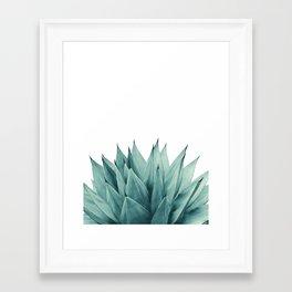 Agave Vibes #8 #tropical #decor #art #society6 Framed Art Print