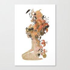 Freya's Hair (Gold) Canvas Print