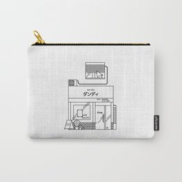 A barber shop in Tokyo Carry-All Pouch