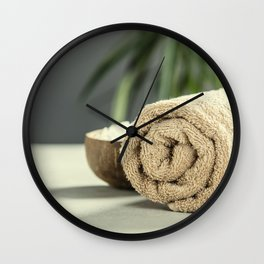 spa products Wall Clock