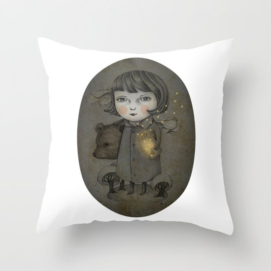 Come Night Throw Pillow