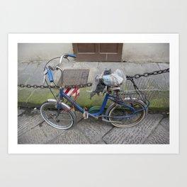 Treasured Ride Art Print