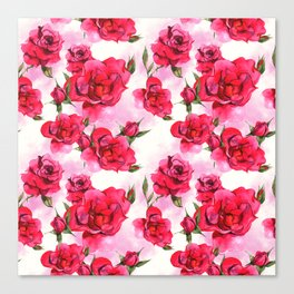Flowers & Flowers Canvas Print