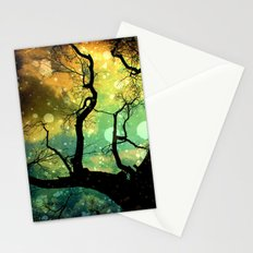 Drifting in the Evernight Stationery Cards