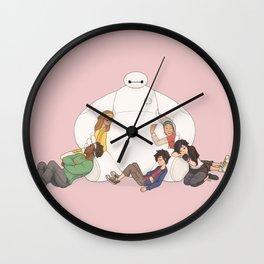 Baymax Snuggles Wall Clock