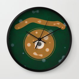 cell glance Wall Clock