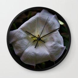 Moon Bloom Wall Clock