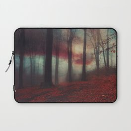 Fall Fantasy II - Moody Autumn Forest Laptop Sleeve