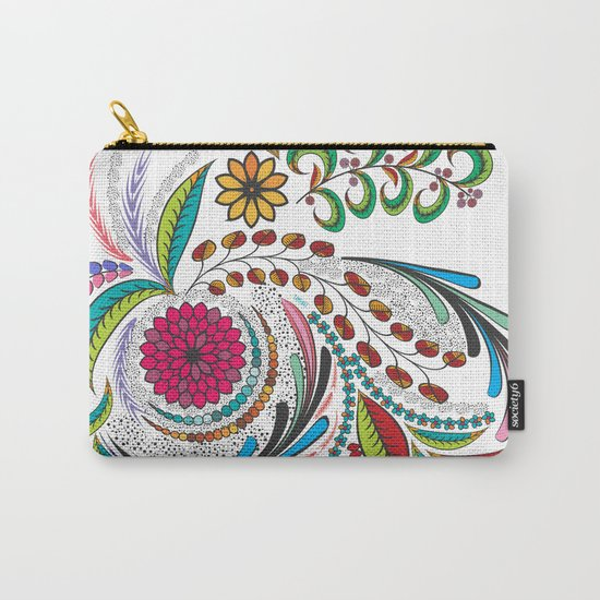 Colorful Vibes Carry-All Pouch