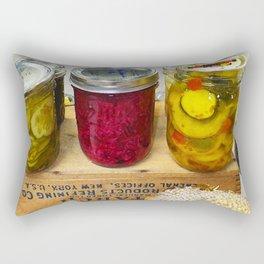 Pickles at the Fair Rectangular Pillow